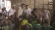 درخواست کمک گروه وان دایرکشن به مردم غنا