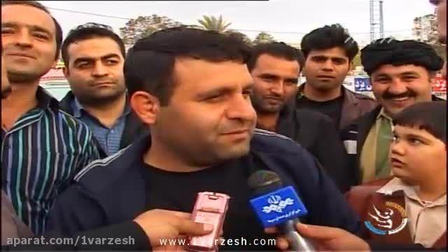 تیم گلساپوش یزد قهرمان لیگ برتر فوتبال ساحلی ایران شد