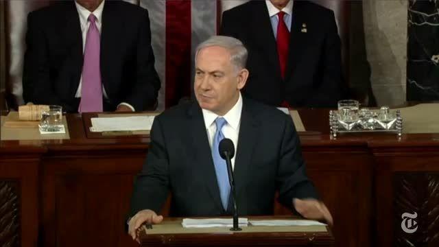 سخنرانی نتانیاهو علیه ایران در کنگره آمریکا
