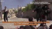جنایت جنگی جبهه النصره - کشتن سربازان  اسیر ارتش به طرز فجیع