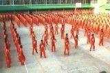 رقص همزمان تمام زندانیان یک زندان (۲)