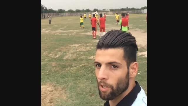 سلفی محمد عباس زاده و صحبتش با هواداران پرسپولیس