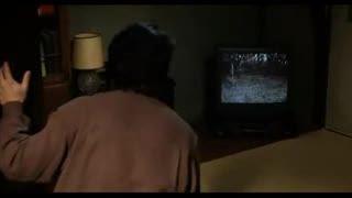صحنه ای ترسناک از فیلم the ring