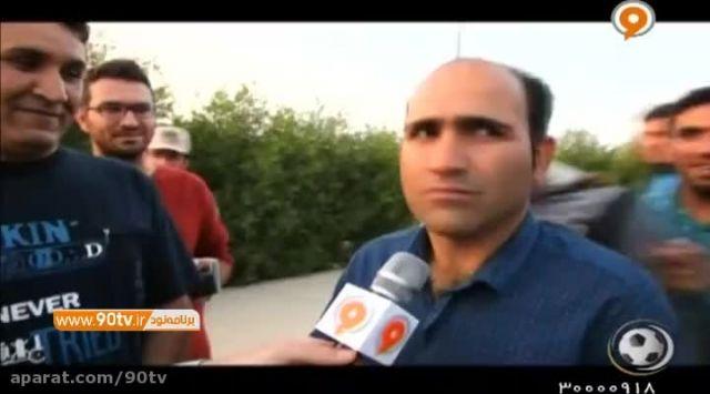 حواشی بازی استقلال خوزستان ۱-۰ گسترش فولاد