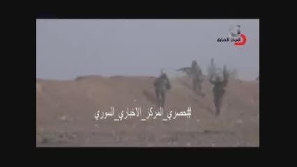 پیشروی های ارتش سوریه