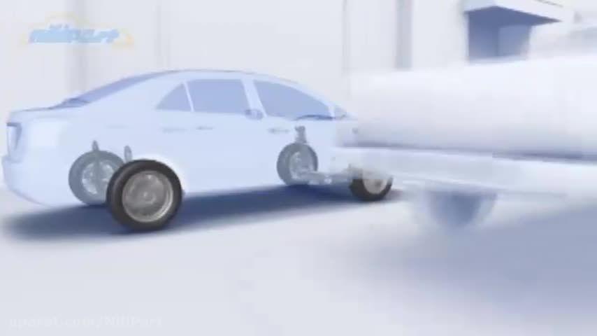 سیستم محافظت از عابرین پیاده در هنگام تصادف