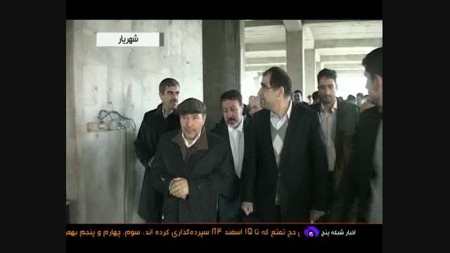 حضور وزیر بهداشت در شهر ملارد