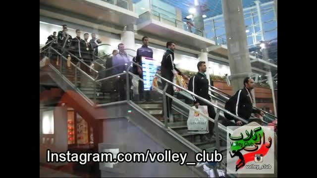 بازگشت تیم ملی والیبال جوانان از بحرین