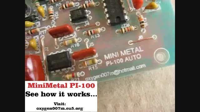Mini Metal Pi-100 how it works