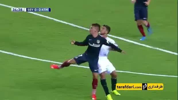خلاصه بازی سویا 0-3 اتلتیکو مادرید