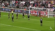 Nice Nice Indirect Free Kick !!!!