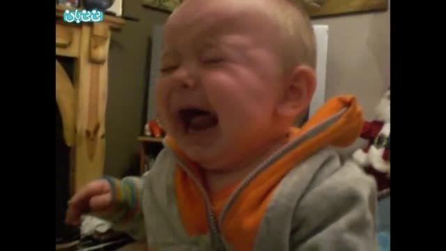 گریه کردن بچه، بامزه و بانمک