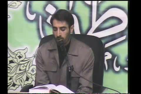کرسی تلاوت در مسجد دانشگاه تهران 1393
