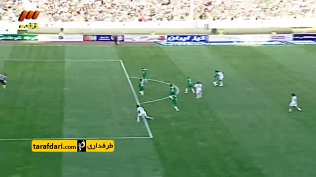 گل فیگو به تیم ستارگان ایران