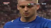 اخراج بخاطر ضربه آرنج در فوتبال3:آرنج ده روسی به مک براید