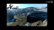 طبیعت زیبای زمستانی قلعه زهاک هشترود