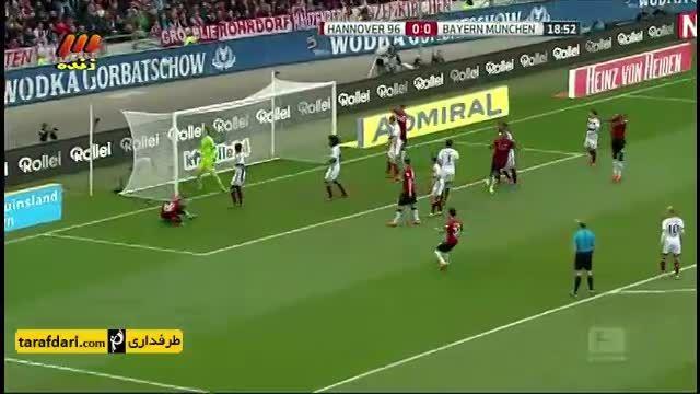 خلاصه بازی هانوفر 1 - 3 بایرن مونیخ