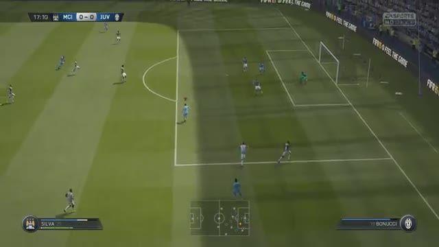 منچستر سیتی و یوونتوس در بازی فیفا