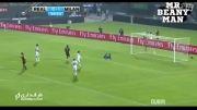 گل ال شاراوی به رئال مادرید (میلان 2-0 رئال مادرید)