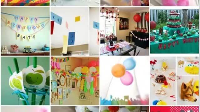 ایده هایی برای جشن تولد در خانه
