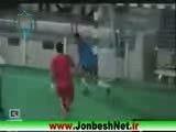 حمله به بازیکنان فوتبال ایران!!