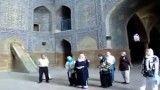 هنرنمایی یک عکاس خوش ذوق در مسجد شاه اصفهان