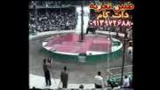 مرحوم مشایخی و صادق مشایخی در قسمت شهادت پسر حر 1375 قودجان