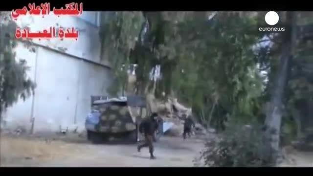 لحظه انتحاری داعش و انفجار با 50 شهید و زخمی در سوریه