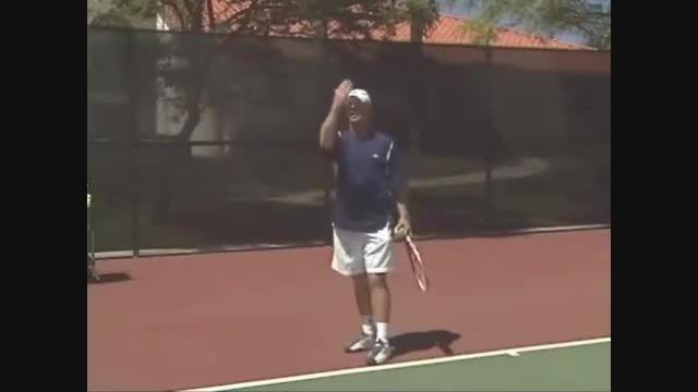 چطور تنیس بازی کنیم درس دوم