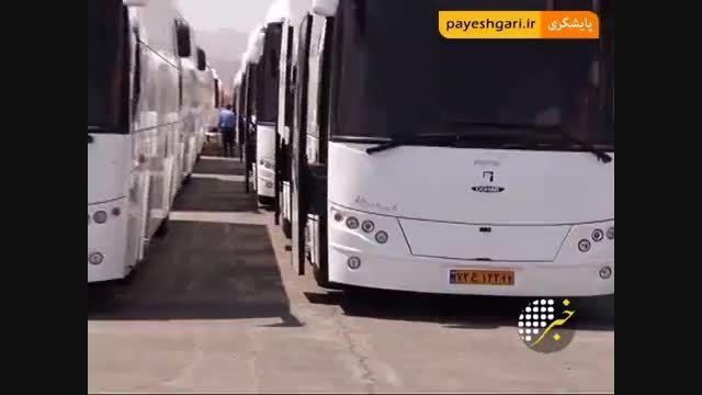 آغاز شماره گذاری اتوبوس اسکانیا