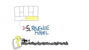 7- جریان درآمدها در بوم مدل کسب و کار