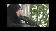 مادر شهید احمدی روشن : ما هزینه بدست آوردن انرژِی هسته ای را پرداخت کرده ایم برای چه باید عقب نششینی کنیم