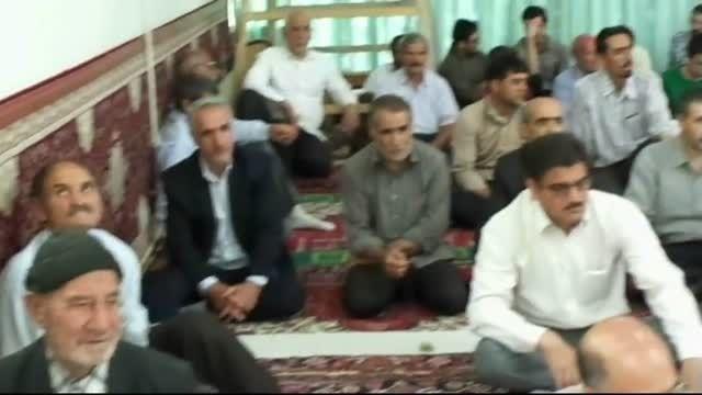 خطبه های نماز جمعه مهربان 26تیر 94 مسجد جامع مهربان