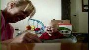 مادر خوش ذوق و کودک خوش خنده!