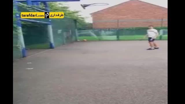 حکایت پرتاب توپ داخل حلقه بسکتبال ستارگان فوتبال