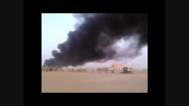 فیلمی از داخل پادگان اماراتی ها در مأرب