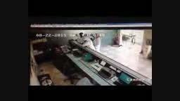 عرب بانک زن وقتل کارمند بانک با گلوله