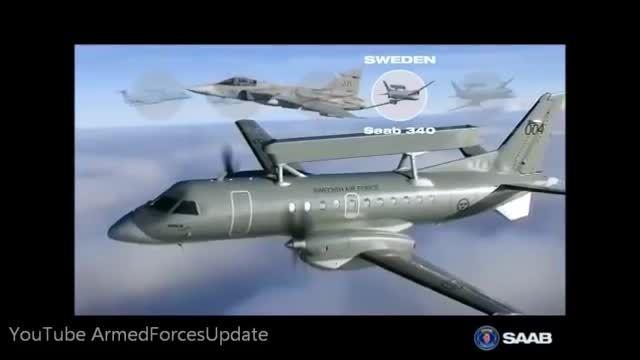 Erieye پیشرفته ترین هواپیمای تجسسی سوئد