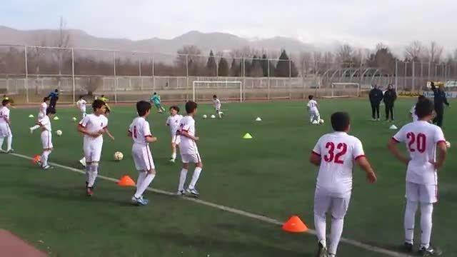 اردوی تیم زیر 11 سال دانش آموزی