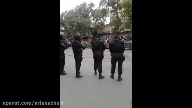 پلیس نوپو ایران اشتباهی به پاهش شلیک می کنه