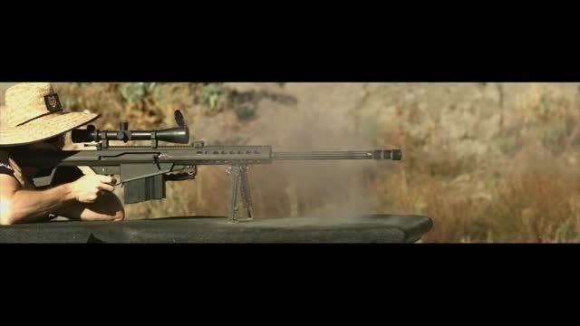 پایان زندگی یک آیفون 6S با شلیک گلوله تفنگ کالیبر 50