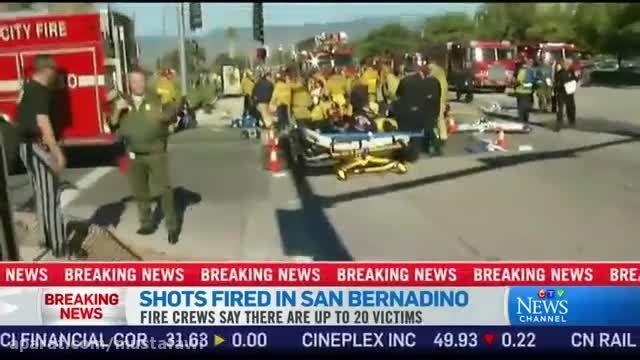 تیراندازی مرگبار در کالیفرنیای آمریکا شهر سن برنادینو 7