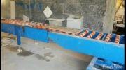 میز ترانسفر نود درجه در خط تولید سنگبری