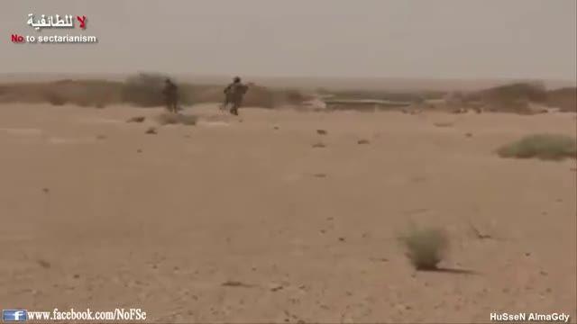 عملیات نیروی هوایی ارتش عراق ضد مقر داعش در الانبار