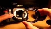 رینگ معکوس،طریقه استفاده رینگ معکوس،Macro reverse ring