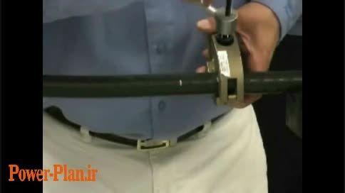 روکش برداری کابل - اتصال کابل فشار قوی