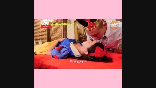 سونگ جی هیو و گری(نامزدش)