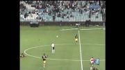 یك اتفاق عجیب در بازی فوتبال