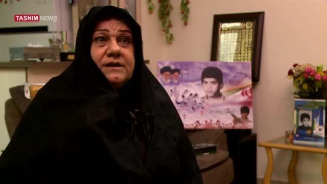 پاسخ مادر شهید محمدی به همه ی حاشیه های تدفین مجددبهنام
