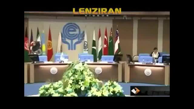 حضور زنان بی حجاب در اجلاس اکو در تهران